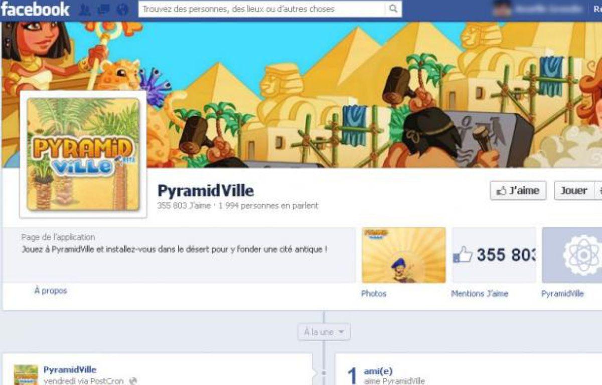 PyramidVille, le jeu social à succès de Kobojo. – CAPTURE D'ECRAN / 20 MINUTES
