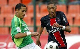 Guillaume Hoarau contre Saint-Etienne le 21 septembre 2008