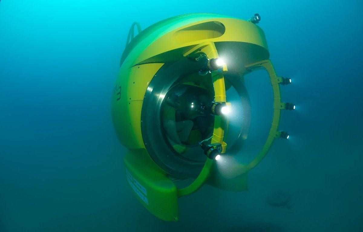 Le sous-marin permet d'atteindre de grandes profondeurs. – David Luquet / Observatoire océanologique de Villefranche-sur-Mer