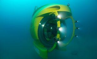 Le sous-marin permet d'atteindre de grandes profondeurs.