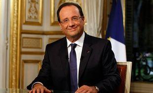 Ce jeudi soir, lors du JT de 20 heures, François Hollande répond aux questions de David Pujadas et Gilles Bouleau en direct du Palais de l'Elysée.