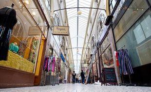 Le passage Choiseul (2e) avec sa verrière rénovée sera inauguré mardi 25 juin 2013.