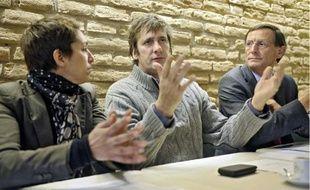 Entouré des élus, John Bernard de Peninsula film a lâché quelques informations.