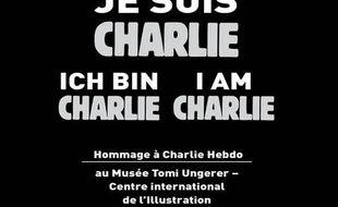 Une exposition hommage à «Charlie Hebdo» se tient du 10 au 18 janvier au musée Tomi Ungerer, à Strasbourg.