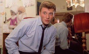 Johnny Hallyday en 1962.