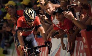 Nibali a fini à quelques secondes de Froome.