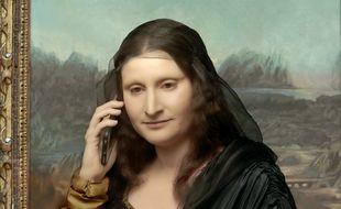 Dans « À musée vous, à musée moi », « La Joconde » appelle son agent, Dominique Besnehard.