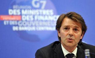 François Baroin lors du G7 des ministres des Finances, à Marseille, le 9 septembre 2011.