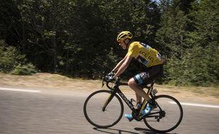 Le vélo de Chris Froome n'a pas été contrôlé à l'arrivée de sa victoire à La Pierre Saint-Martin.
