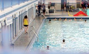 Illustration d'une piscine, ici à Saint-Georges, à Rennes.