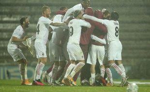 Le Milan AC s'est qualifié pour la Ligue Europa au terme d'une séance de tirs au but épique face à Rio Ave, le 1er octobre 2020 .
