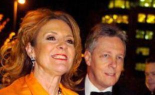 Iris et Peter Robinson, Premier ministre d'Irlande du Nord, décembre 2007.