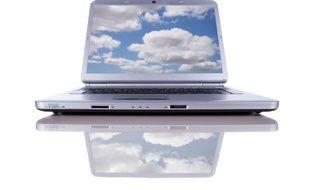 Illustration du cloud computing.