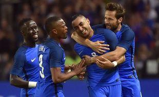 Les joueurs de l'équipe de France, le 30 mai 2016, à Nantes.