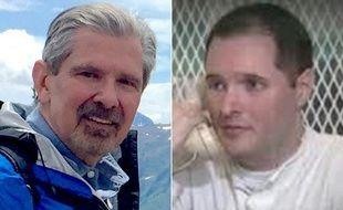 Kent Whitaker et son fils Bart, qui a commandité l'assassinat de ses parents et de son frère.