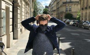 Le masque anti-pollution filtre les micro-particules.