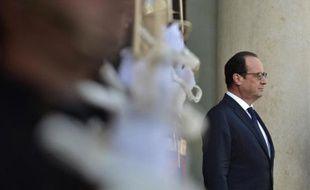 Le président français François Hollande le 19 septembre 2014 à l'Elysée
