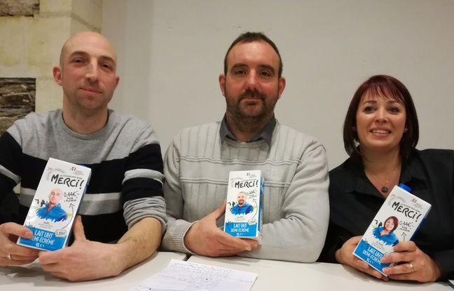 Gael Drouet, Valéry Cheneau et Elodie Ricordel font partie de l'organisation des producteurs