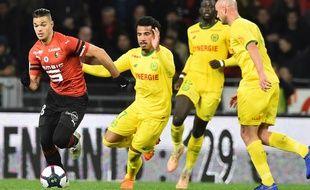 Hatem Ben Arfa n'arrive pas à s'imposer à Rennes.