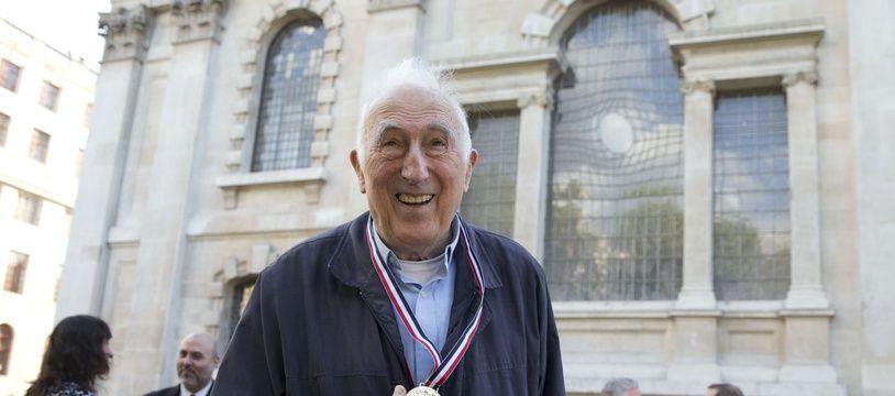 Jean Vanier le 18 mai 2018 à Londres