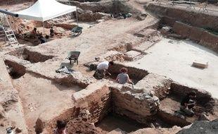 Un nouveau quartier de l'empire romain a été découvert sur les hauteurs de Lyon.