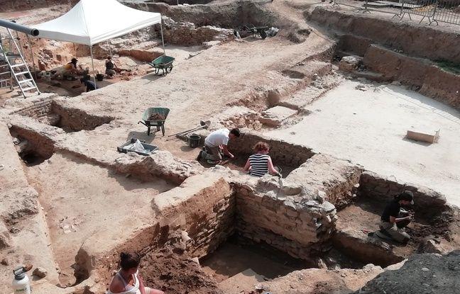 VIDEO. Lyon: Un nouveau quartier romain découvert sur les hauteurs de Fourvière