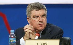 L'Allemand Thomas Bach, élu à la présidence du CIO, le 10 septembre 2013 à Buenos Aires.