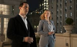 Jeremy Strong et Sarah Snook dans «Succession»