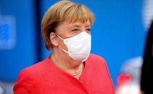 La chancelière allemande Angela Merkel, le 2 octobre 2020 à Bruxelles.