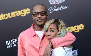 Le rappeur T.I. et sa femme Tameka