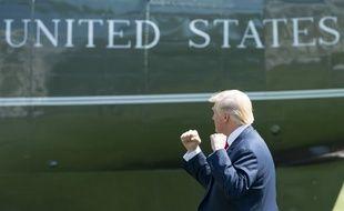 Donald Trump à la Maison Blanche, le 4 août 2017.