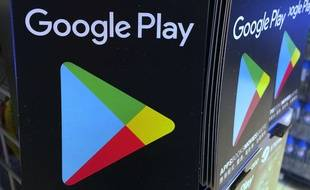 Le logo de Google Play