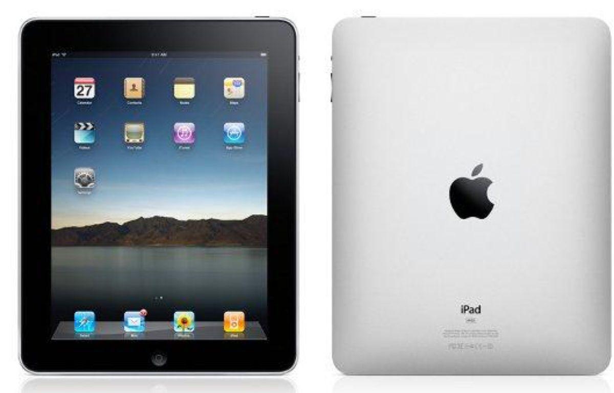 L'iPad, la tablette dévoilée par Apple le 27 janvier 2010 – Apple