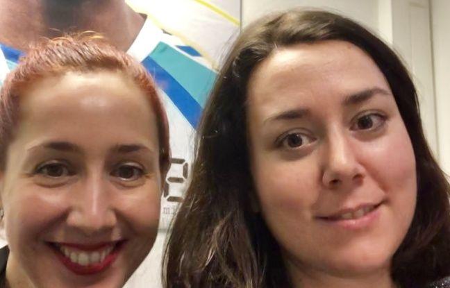 Maïa Mazaurette, chroniqueuse sexualité et Anne-Laetitia Béraud, journaliste à 20 Minutes, le 7 janvier 2020 à 20 Minutes à Paris