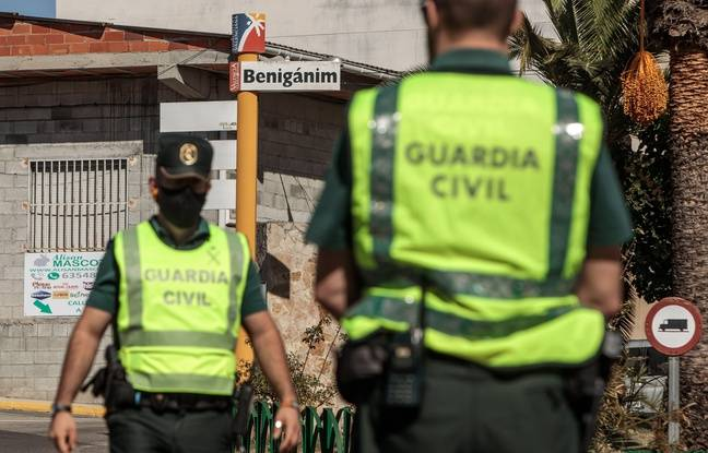 648x415 membres guardia civil espagnole illustration