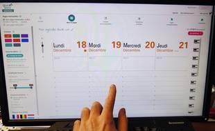 L'agenda personnalisé sur-mesure se réalise depuis le site Internet Quo Vadis Factory.