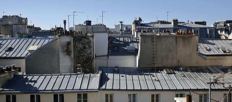 Vue sur les toits de Paris.