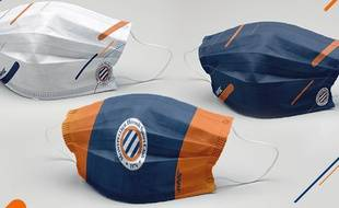 Les masques du MHSC seront accessibles à la vente à compter de mardi.