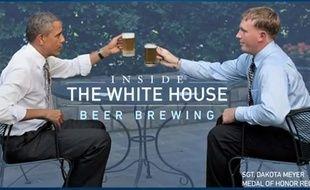 La recette de la bière de la Maison blanche révélée en vidéo.