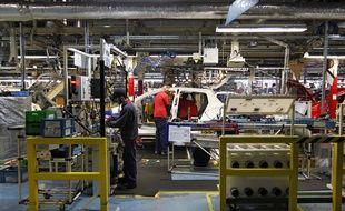 L'usine Toyota, à Onnaing, près de Valenceinnes.