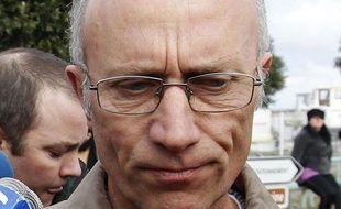 Gilles Patron, le père de la famille d'accueil de Laëtitia Perrais, le 24 janvier 2011 à Saint-Brévin-les-Pins (Loire-Atlantique).