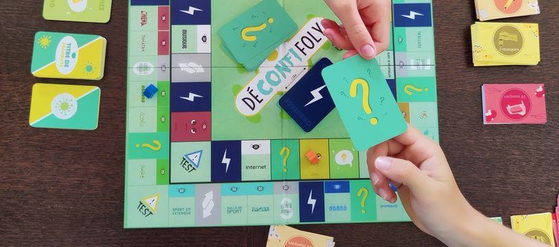 Le jeu Déconfifoly est actuellement disponible dans sa deuxième version.