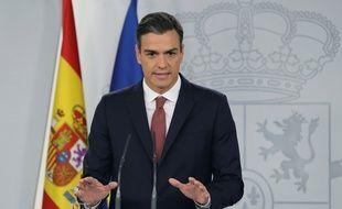 Le Premier ministre espagnol Pedro Sanchez.