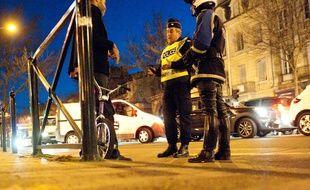 Bordeaux, 29 novembre 2012. - Controle de police. Image d'illustration - Photo : Sebastien Ortola