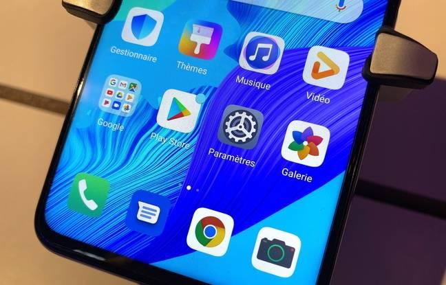 Le Nova 5T de Huawei dispose des services de Google.