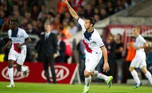 Zlatan Ibrahimovic, le 13 septembre 2013 à Bordeaux.