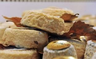 Image d'illustration de fromage de chèvre.