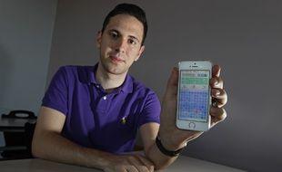 Vincent Monteil a développé le jeu Hundredious pour smartphones.