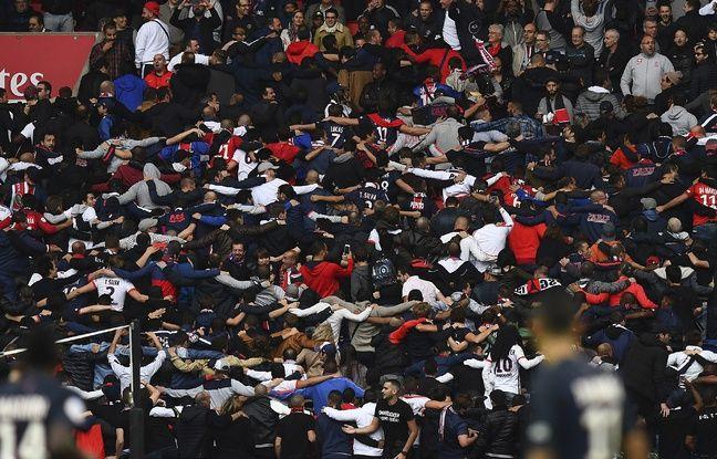La fameuse «grecque» des ultras parisiens