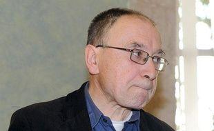 Pierre-Etienne Albert, moine de la communauté des Béatitudes, accusé de pédophilie, le 30 novembre 2011 à Rodez.